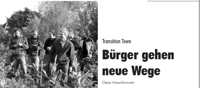 Transition Towns-Artikel