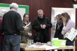 Infostand Grüner Hahn - das Umweltmanagementprojekt der evang. Gemeinde Beuel