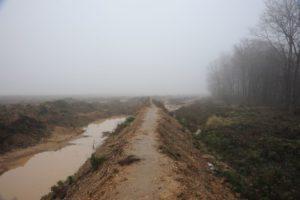 Auf dem Grenzwall zwischen Mordor und dem hambacher Forst