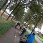Unterwegs auf dem Radweg bei Venlo