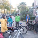 Vor der Abahrt in Amsterdam