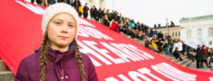 Greta Thunberg auf dem NowWeHaveTo – Climate March in Helsinki Foto: © Jonne Sippola / Greenpeace