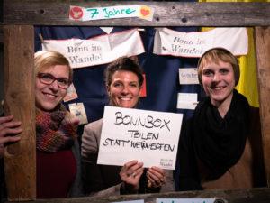 Mädels von der Bonnbox im Bilderrahmen