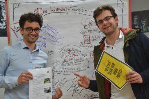Akteure des Tannenbusch-Haus werben für gute Ideen