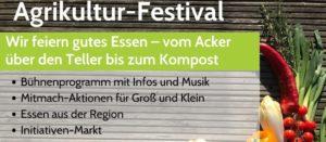 Flyer des Agrikulturfestival