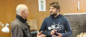 Lastenradbauer Sven im Gespräch