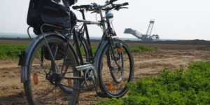 Fahrrad-vor-Kohlegrube