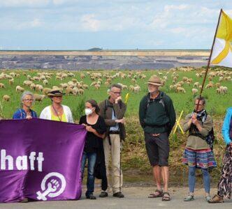Stadtwandelnews 4/2021: Klimapilger in Garzweiler, Rückblick Klimaaktionstag, 1. Klimaforum Interessenbekundung, Kultur ohne Kohle Festival